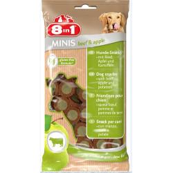 8in1 - 8in1 Minis Biftekli Elmalı Aperatif Köpek Ödülü 100 Gr