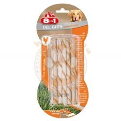 8in1 - 8in1 Delights Bones Köpekler İçin Ağız Bakım Çubuğu 10'lu 55 Gr