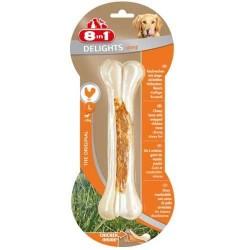 8in1 - 8in1 Delights Bones Köpekler İçin Ağız Bakım Kemiği Large 130 Gr