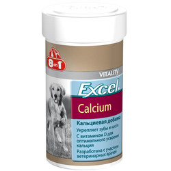 8in1 - 8in1 Excel 660473 Calcium Eklem Sağlığı Yavru ve Yetişkin Köpek Tableti (155 Tab)