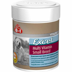 8in1 - 8in1 Excel 660471 Small Breed Küçük Irk Köpekler için Multivitamin Tablet (70 Tab)