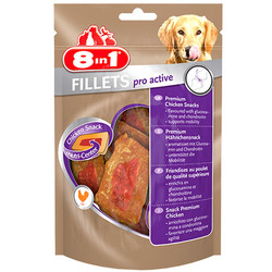 8in1 - 8in1 Fillets Pro Active Eklem Sağlığı Köpek Ödülü 80 Gr