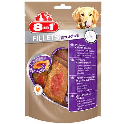 8in1 Fillets Pro Active Eklem Sağlığı Köpek Ödülü 80 Gr