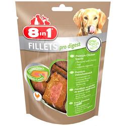 8in1 Fillets Pro Digest Sindirim Sağlığı Köpek Ödülü 80 Gr - Thumbnail