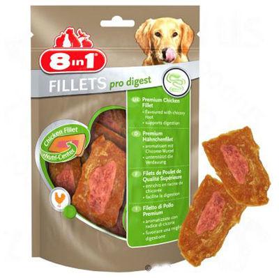 8in1 Fillets Pro Digest Sindirim Sağlığı Köpek Ödülü 80 Gr