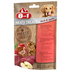 8in1 - 8in1 Meaty Treats 661443 Ördek Etli ve Elma Kurutulmuş Tahılsız Köpek Ödülü 50 Gr
