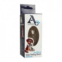 Diğer / Other - A Plus Glass Feeding Bottel Evcil Hayvan Cam Biberonu 100 ML