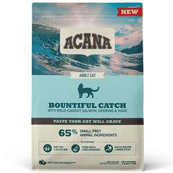 Acana - Acana Bountiful Catch Deri ve Tüy Sağlığı Kedi Maması 1,8 Kg + 5 Adet Temizlik Mendili