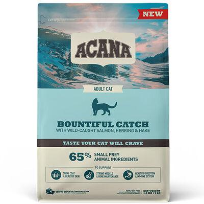 Acana Bountiful Catch Deri ve Tüy Sağlığı Kedi Maması 1,8 Kg + 5 Adet Temizlik Mendili