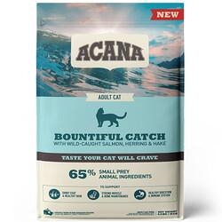 Acana - Acana Bountiful Catch Deri ve Tüy Sağlığı Kedi Maması 4,5 Kg + 10 Adet Temizlik Mendili