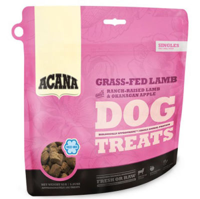 Acana Freeze Dried Grass-Fed Lamb Kuzu Etli Köpek Ödülü 92 Gr