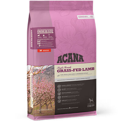 Acana Grass - Fed Lamb Kuzu ve Elma Köpek Maması 6 Kg + 10 Adet Temizlik Mendili
