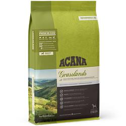 Acana - Acana Grasslands Kuzu ve Ördek Tahılsız Köpek Maması 2 Kg + 5 Adet Temizlik Mendili