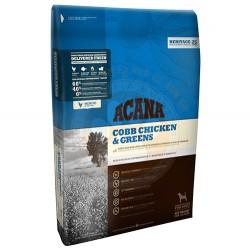 Acana - Acana Chicken&Greens Tahılsız Köpek Maması 2 Kg+5 Adet Temizlik Mendili