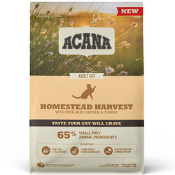 Acana - Acana Homestead Harvest Yetişkin Kedi Maması 1,8 Kg+2 Adet Temizlik Mendili