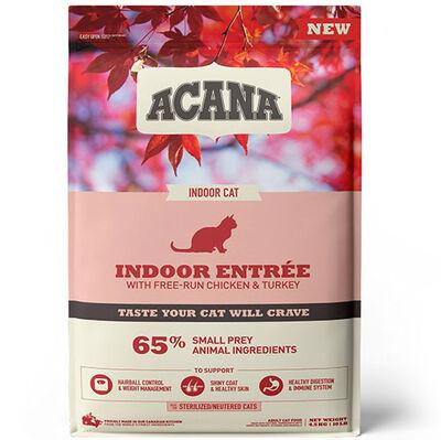 Acana Indoor Entree Sterilised Kısırlaştırılmış Kedi Maması 4,5 Kg+10 Adet Temizlik Mendili