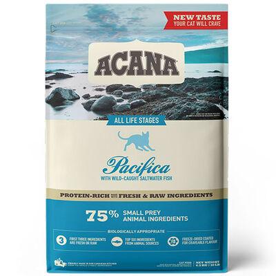Acana Pacifica Cat Tahılsız Balıklı Kedi Maması 4,5 Kg + 10 Adet Temizlik Mendili