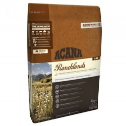 Acana - Acana Ranchlands Kuzu Domuz ve Bizon Kedi Maması 1,8 Kg+2 Adet Temizlik Mendili