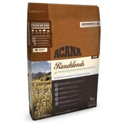 Acana - Acana Ranchlands Kuzu Domuz ve Bizon Kedi Maması 5,4 Kg+10 Adet Temizlik Mendili