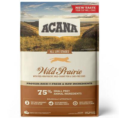 Acana Wild Prairie Tahılsız Tavuklu Kedi Maması 4,5 Kg + 10 Adet Temizlik Mendili