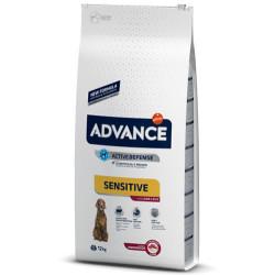 Advance - Advance Lamb Kuzu Etli Köpek Maması 12 Kg + 5 Adet Temizlik Mendili