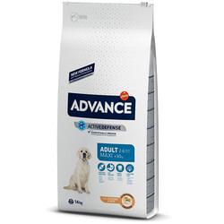 Advance - Advance Maxi Adult Tavuk Etli Köpek Maması 14 Kg + 5 Adet Temizlik Mendili