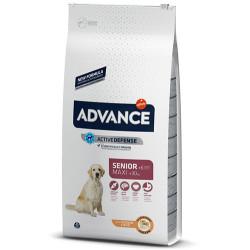 Advance - Advance Maxi Senior Büyük Irk Yaşlı Köpek Maması 14 Kg+5 Adet Temizlik Mendili