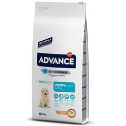 Advance - Advance Puppy Maxi Büyük Irk Yavru Köpek Maması 12 Kg + 5 Adet Temizlik Mendili