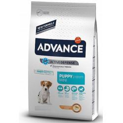 Advance - Advance Puppy Mini Küçük Irk Yavru Köpek Maması 3 Kg+5 Adet Temizlik Mendili