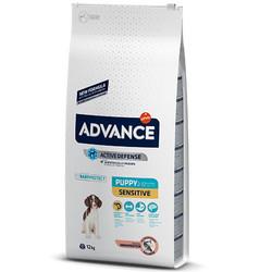 Advance - Advance Puppy Sensitive Yavru Köpek Maması 12 Kg + 5 Adet Temizlik Mendili