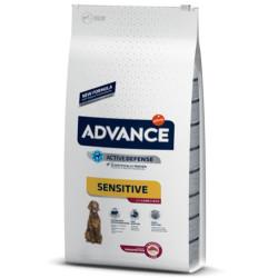 Advance - Advance Sensitive Lamb Kuzu Etli Köpek Maması 3 Kg + 2 Adet Temizlik Mendili