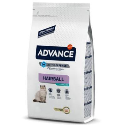 Advance Sterilised Hairball Kısırlaştırılmış Kedi Maması 3 Kg + 5 Adet Temizlik Mendili
