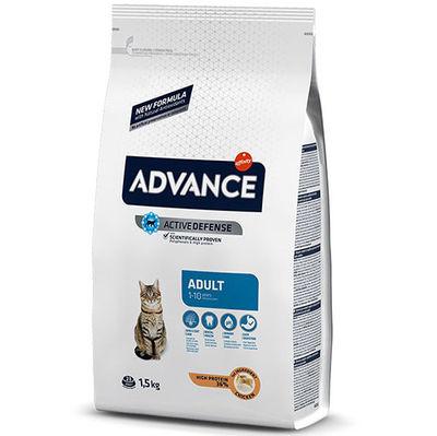Advance Tavuk Etli Yetişkin Kedi Maması 1,5 Kg + 2 Adet Temizlik Mendili