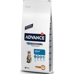 Advance - Advance Tavuklu ve Pirinçli Kedi Maması 15 Kg+5 Adet Temizlik Mendili