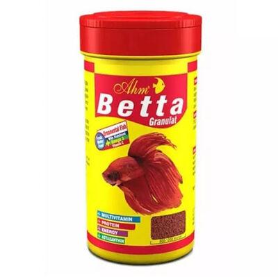 AHM Betta Granulat Balık Yemi 100 ML