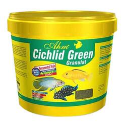 Ahm - AHM Cichlid Green Granulat Balık Yemi 3000 Gr