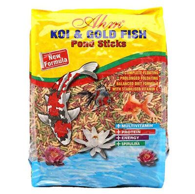 AHM Colour Pond Mix Sticks Koi Ve Japon Balığı Yemi 1000 Gr