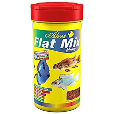AHM Flat Mix Menu Balık Yemi 100 ML