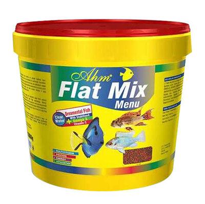 AHM Flat Mix Menu Balık Yemi 3000 Gr