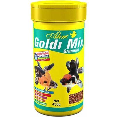 AHM Goldi Mix Granulat Balık Yemi 100 ML