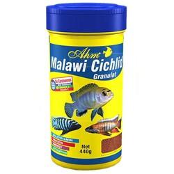 Ahm - AHM Malawi Cichlid Granulat Balık Yemi 100 ML
