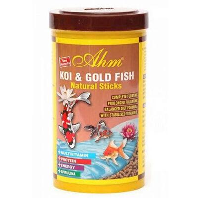 AHM Pond Natural Sticks Koi ve Japon Balığı Yemi 1000 ML