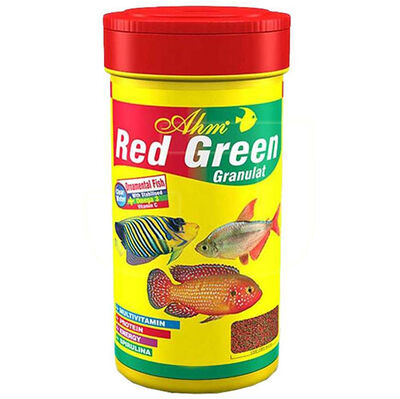 AHM Red Green Granulat Balık Yemi 100 ML