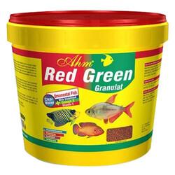 Ahm - AHM Red Green Granulat Balık Yemi 3000 Gr