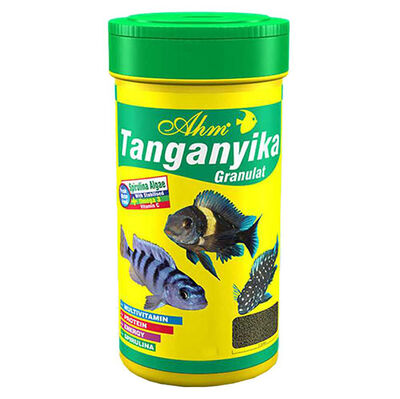 AHM Tanganyika Cichlid Granulat Balık Yemi 100 ML
