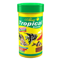 Ahm - AHM Tropical Granulat Balık Yemi 100 ML