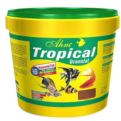 AHM Tropical Granulat Balık Yemi 3000 Gr