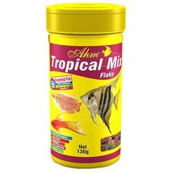 Ahm - AHM Tropical Mix Flake Balık Yemi 100 ML