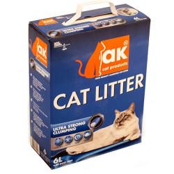 Akkum - Akkum Aktif Karbon Ultra Strong (Ekstra Güçlü) Topaklanan Kedi Kumu 6 Lt