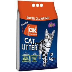 Akkum - Akkum Doğal İnce Taneli Lavantalı Kedi Kumu 10 Kg